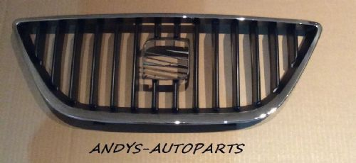 SEAT IBIZA 2008 - 2012 FRONT GRILLE WITH CHROME SURROUND